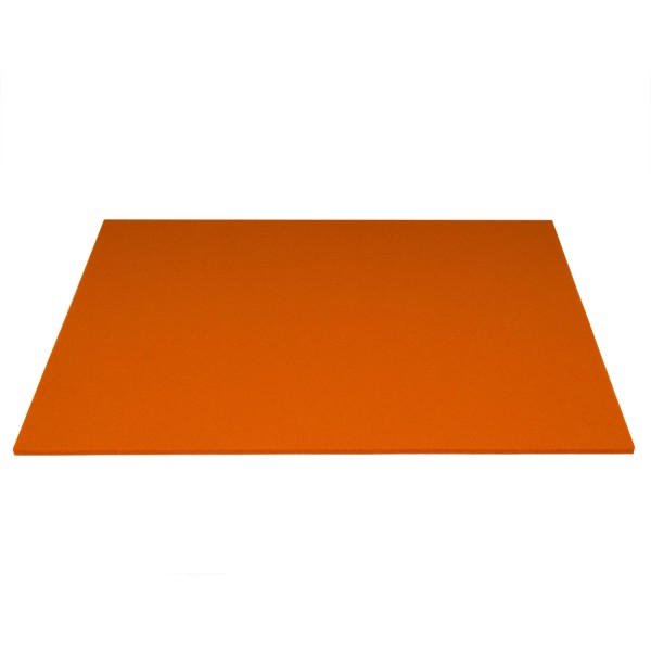 Tischset Wollfilz 45x33cm, Orange