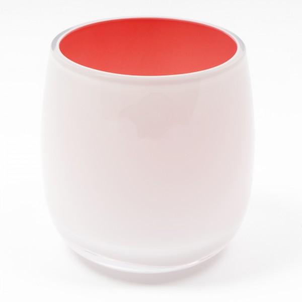 MEL Vase Happy Spring mittel 15cm koralle