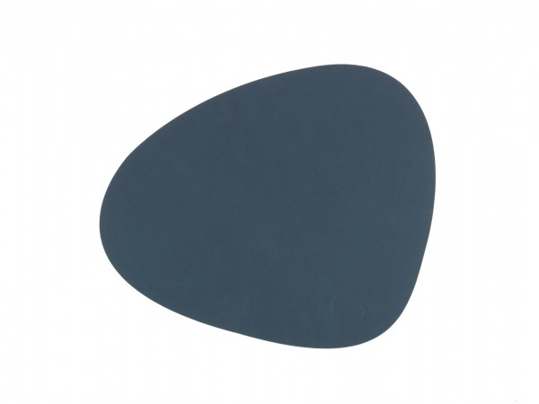 Nupo Table Mat Curve S dark blue
