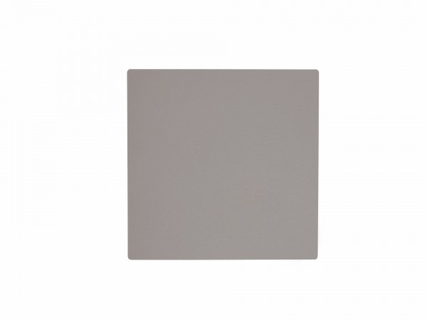 Nupo Glass Mat Square light grey