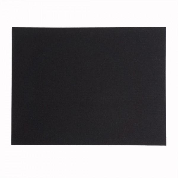 Tischset rechteckig, 45x35cm, Schwarz