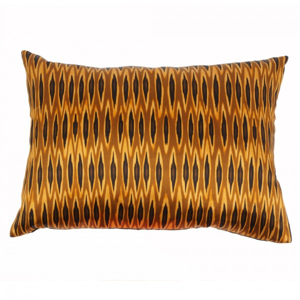 Kissen inkl. Füllung Tribal Ikat Long Ocre 35x50cm