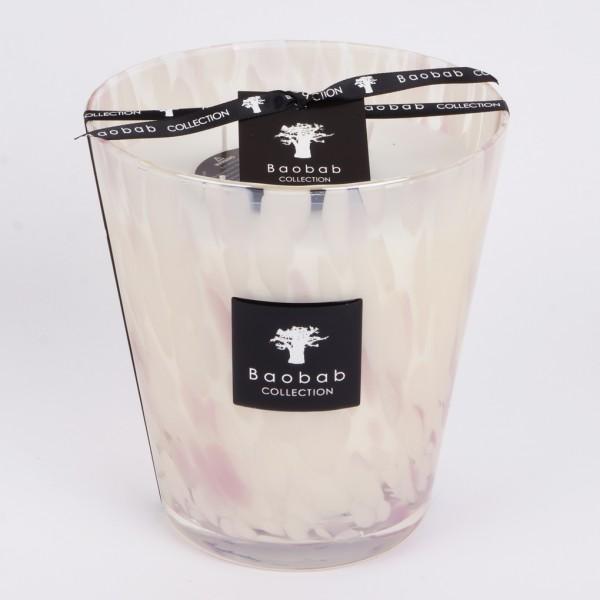 Baobab Duftkerze Pearls White Max 16