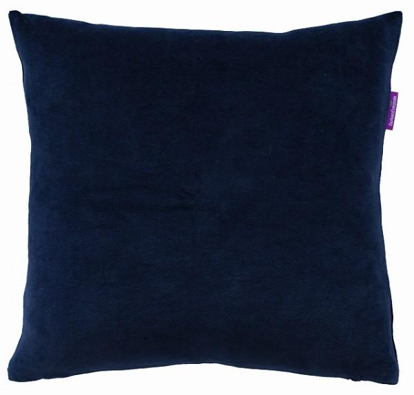 NICKY Kissenhülle 50x50cm, Blue Velvet