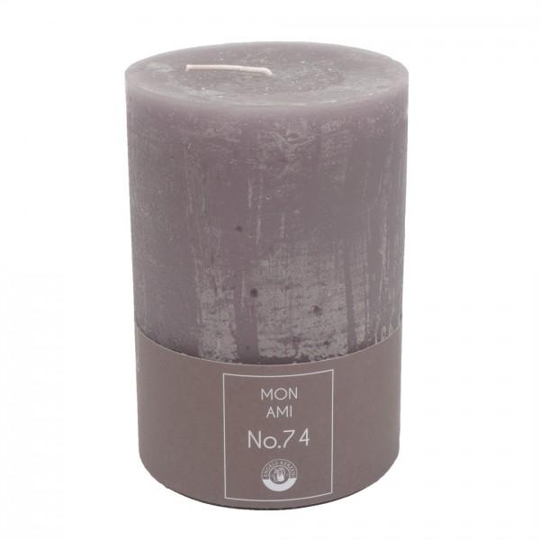 Mon Ami Rustique Kerze violett Nr.074 Ø10cm H15cm