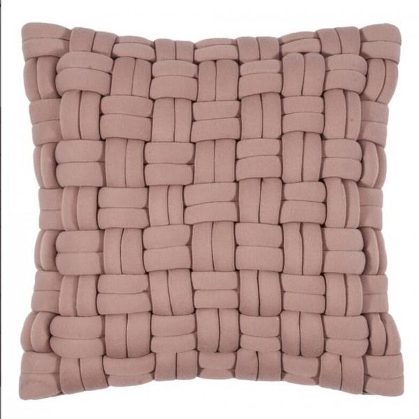 Lokken Kissenhülle 45x45, dusty pink, mit Füllung SALE