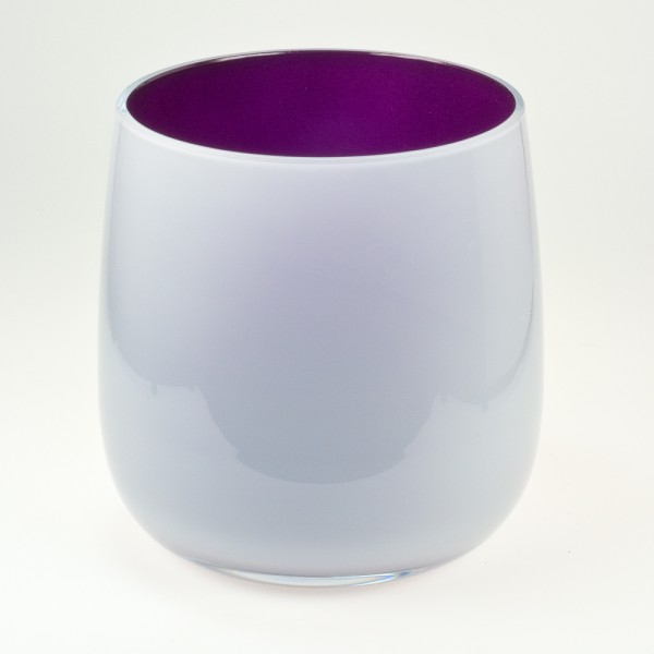 MEL Vase Happy Spring groß 20,5cm violett