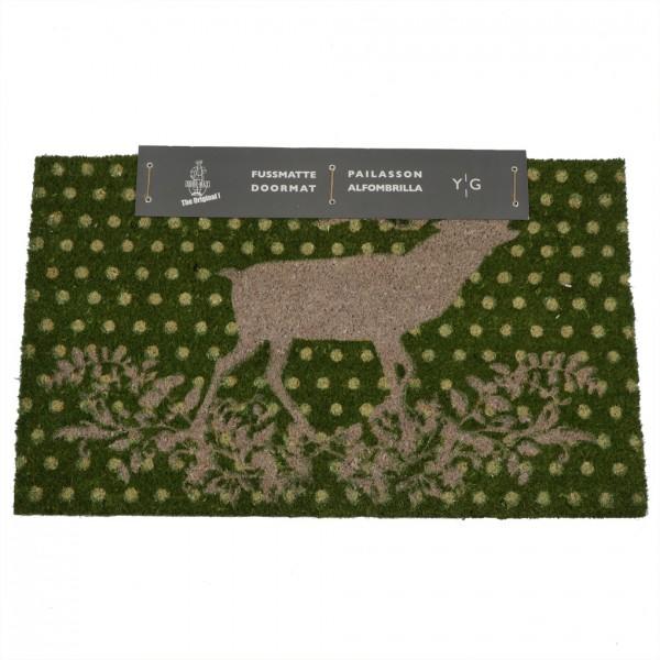 Shoe-Max Kokos-Fussmatte, Cosy Deer 44x74cm