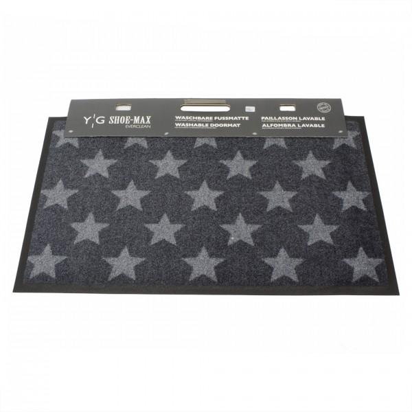 Shoe-Max Fussmatte, Fresh Stars Graphite Stone 45x75cm