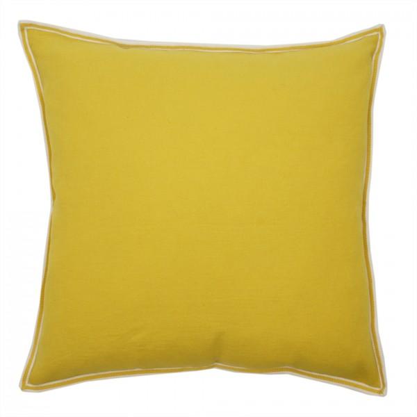 Kissen PHILIA square Lemon 50x50cm 50% LI 50% VI, inkl. Füllung