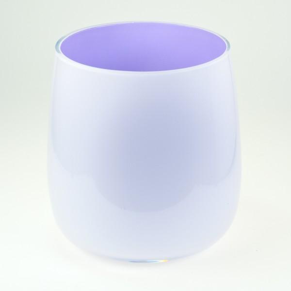 MEL Vase Happy Spring groß 20,5cm lila