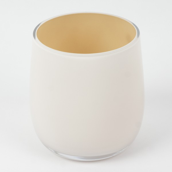MEL Vase Happy Spring klein 10,5cm sand