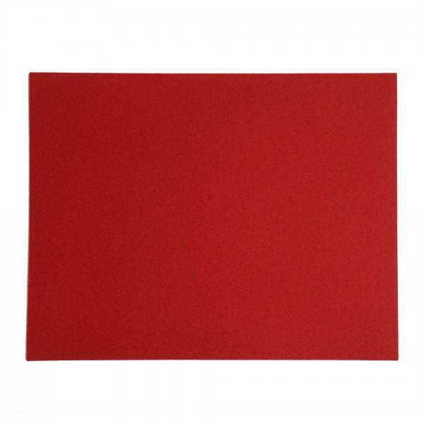 Tischset rechteckig, 45x35cm, Rot 11