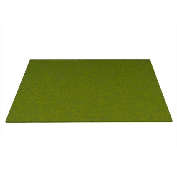 Tischset Wollfilz 45x33cm, Moosgrün