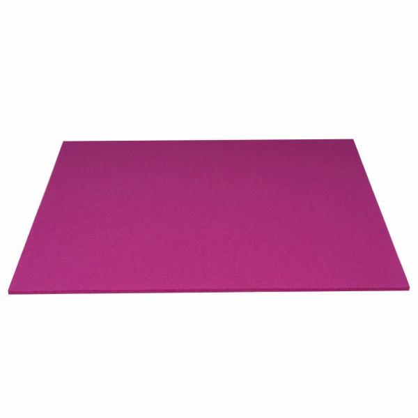 Tischset Wollfilz 45x33cm, Berry