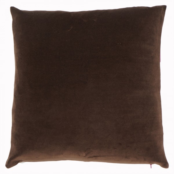 NICKY Kissenhülle 50x50cm, Chocolate