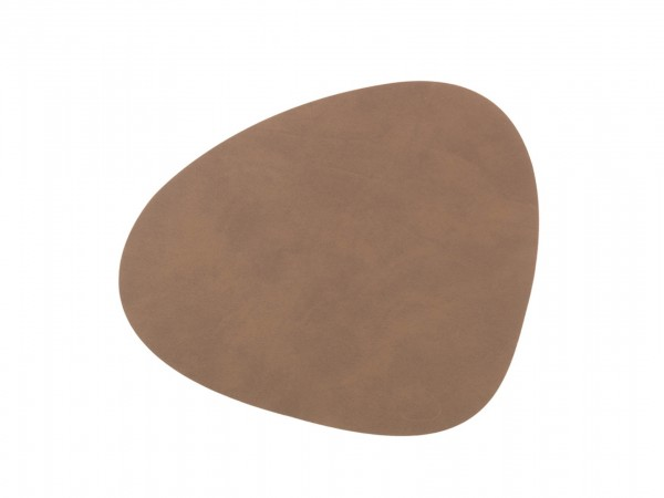 Nupo Table Mat Curve S brown