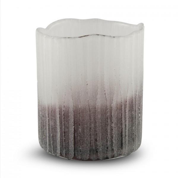 Glas -Teelicht TINT H12cm D: 10cm