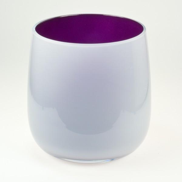 MEL Vase Happy Spring mittel 15cm violett