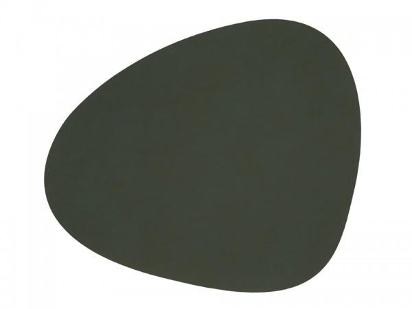 Nupo Table Mat Curve L dark green
