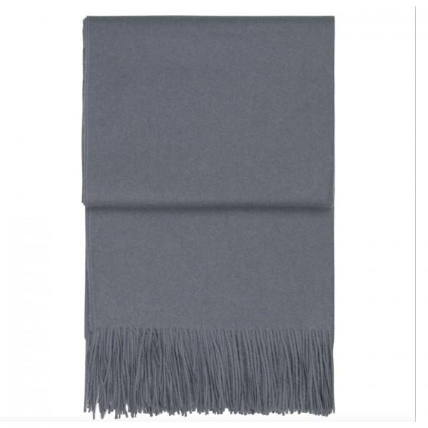 Decke Classic throw grey blue 130x200cm SALE