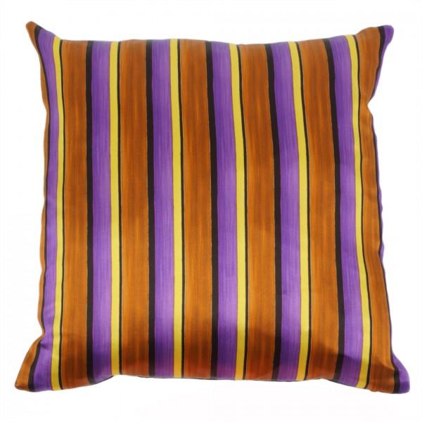 Kissen inkl. Füllung Stripes Brown 40x40cm