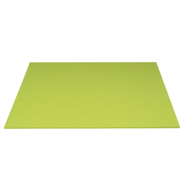 Tischset Wollfilz 45x33cm, Kiwi