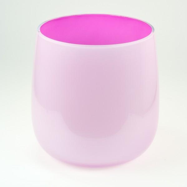 MEL Vase Happy Spring groß 20,5cm pink