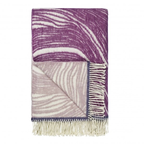 Aurelia Berry Throw Plaid 130x190cm