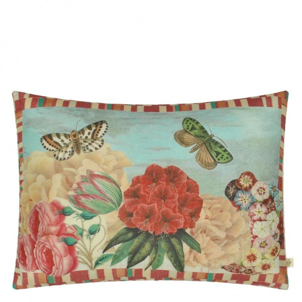 Garden Fantasy Fuchsia Kissen 60x45 cm