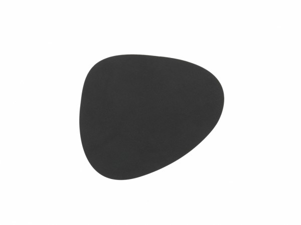 Nupo Glass Mat Curve black