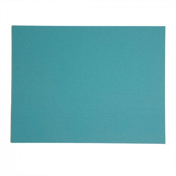 Tischset rechteckig, 45x35cm, Pastelltürkis