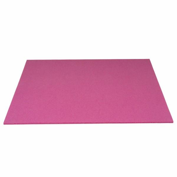 Tischset Wollfilz 45x33cm, Rosa