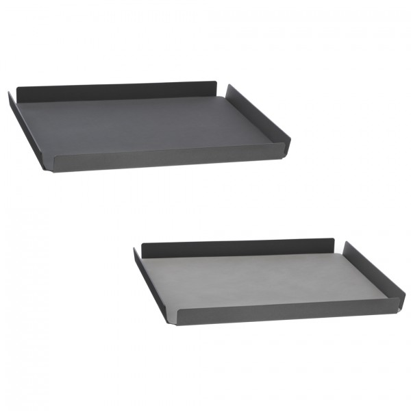 Tray Square M anthracite-anthracite