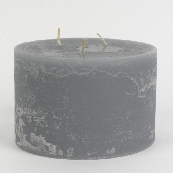 Engels Mon Ami Mehrdocht Kerze, du Chateau Gris, Ø15cm H10cm