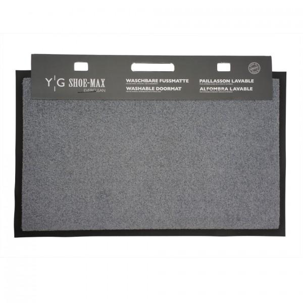 Fussmatte Gummi Velours Stone 45x75cm