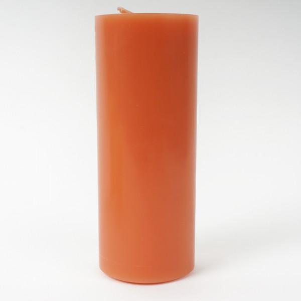 Stumpenkerze Pfirsich 20x8cm
