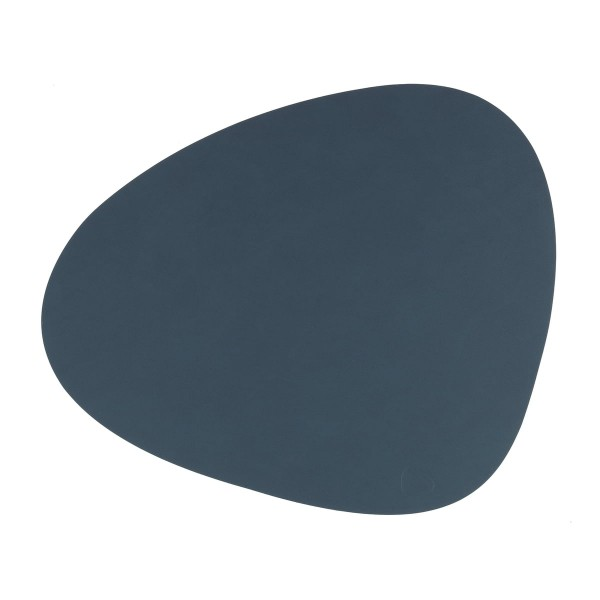 Nupo Table Mat Curve L dark blue