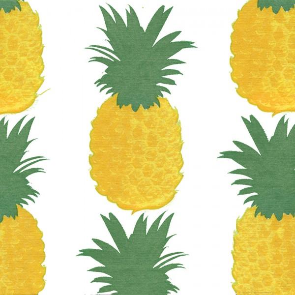 Servietten 40x40cm Ananas