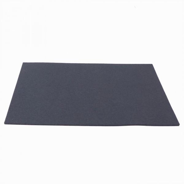 Tischset Wollfilz 45x33cm, Graphite