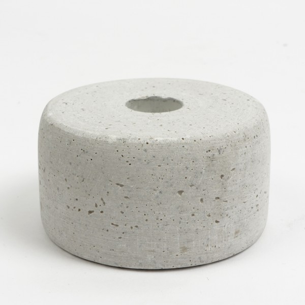 Kerzenhalter LENA grau 9,5cm