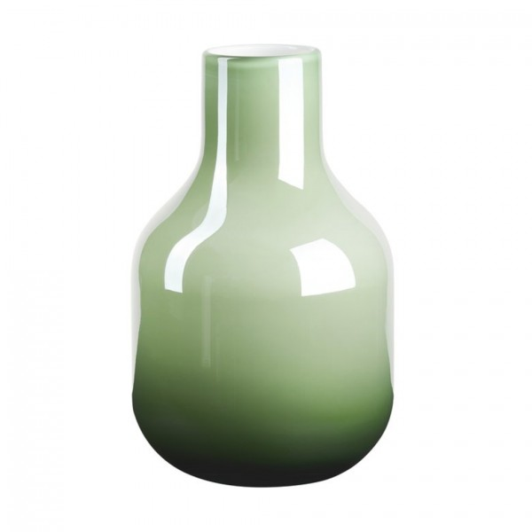 Pearl, Glasvase grün H26,5cm