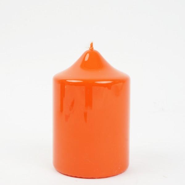 Kaminkerze gelackt Mango Nr. 016 D=8cm H=12cm