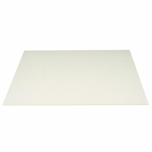 Tischset Wollfilz 45x33cm, Wollweiß