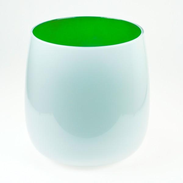 MEL Vase Happy Spring groß 20,5cm maigrün