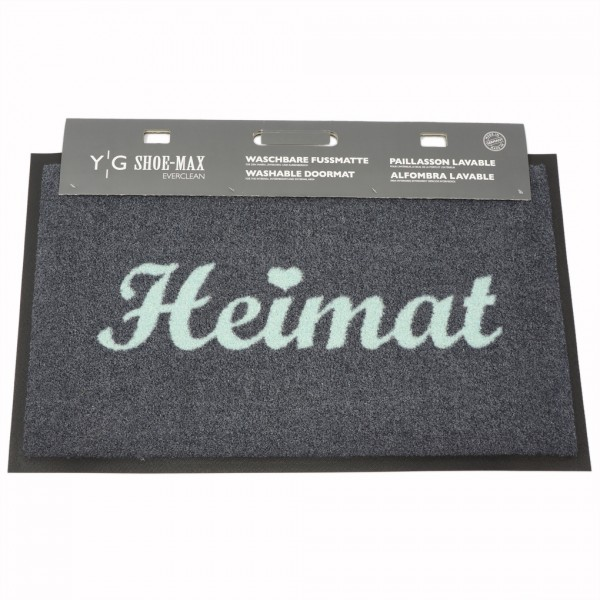 Shoe-Max Fussmatte, Heimat Hellblau 45x75cm