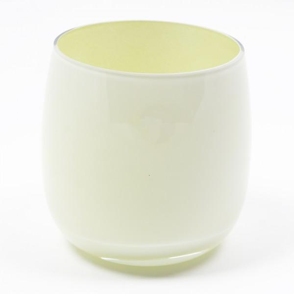 MEL Vase Happy Spring groß 20,5cm schilf