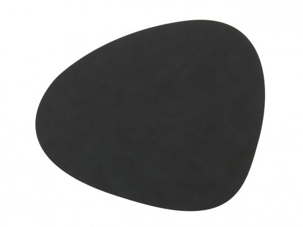 Nupo Table Mat Curve L black