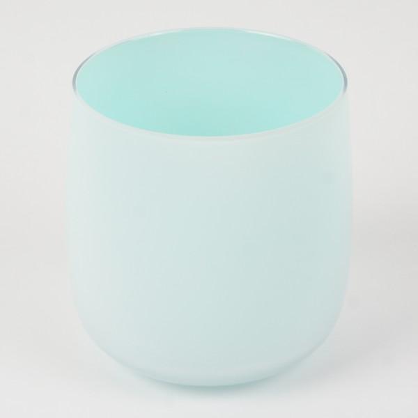 MEL Vase Happy Spring mittel 15cm türkis
