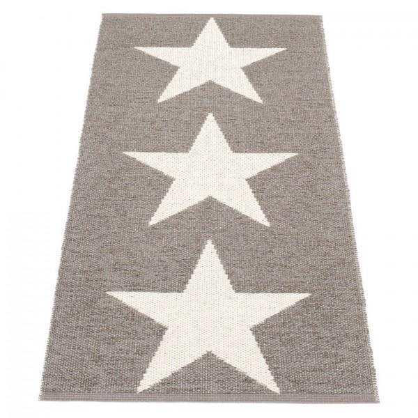 Viggo Teppich Star Mud Metallic 70x150cm
